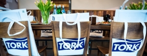 Spotkanie prasowe marki Tork w nowo otwartej warszawskiej restauracji Ed Red