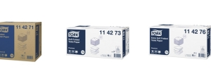 Zmiana jakości produktów Tork Papier Toaletowy Folded w systemie T3