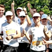 Marka Tork w sztafecie maratońskiej EKIDEN