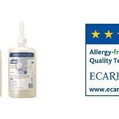 Mydła Tork uzyskały certyfikat alergiczności ECARF
